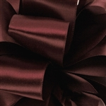 Burgundy Double Faced Satin Ribbon - 5 widths - 100 yards
