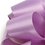Light Orchid Double Faced Satin Ribbon - 5 widths - 100 yards