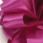 Wild Berry Double Faced Satin Ribbon - 4 widths - 100 yards