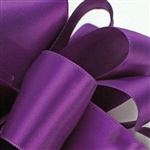 Offray Double Faced Satin Ribbon - 5 widths - 100 yards 465 Purple