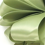 Offray Double Face Satin - 567 Spring Moss - 100 yards