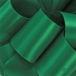 Offray Double Face Satin - 580 Emerald Green - 100 yards