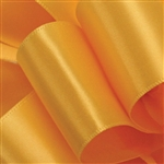 Offray Double Face Satin - 660 Yellow Gold - 100 yards