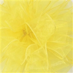 "Offray Wired Sensation Ribbon Yellow 1-1/2"", or 2-1/2"" x 50 Yards"