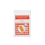 "Clear Cello bags with adhesive lip 5-1/4"" W x 7-1/4"" H"