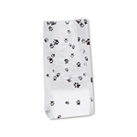Paw Prints 2 lb. Clear Cello Bags
