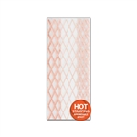 Rose Gold Lattice 2 lb. Clear Cello Bags