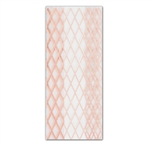 Rose Gold Lattice 4 lb. Clear Cello Bags