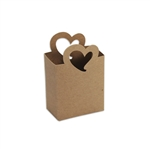 Nouveau Hearts Kraft Candy Boxes