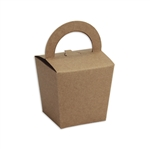 Candy Basket Tote - Natural Kraft Candy Boxes