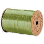 Wraphia Ribbon Pearlized Jungle Green