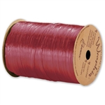 Wraphia Ribbon Pearlized Red Raspberry