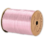 Wraphia Ribbon Pearlized Pink