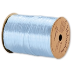 Wraphia Ribbon Pearlized Light Blue