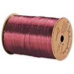 Wraphia Ribbon Pearlized Burgundy