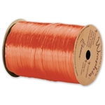 Wraphia Ribbon Pearlized Orange