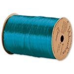 Wraphia Ribbon Pearlized Aqua