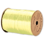 Wraphia Ribbon Pearlized Light Yellow
