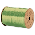 Wraphia Ribbon Pearlized Chartreuse