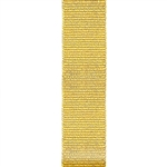 Offray Grosgrain Ribbon - Metallic Gold