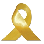 Single Face Satin Ribbon - Yellow