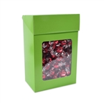 Foodie Flip Top Candy Boxes with Windows Lime