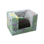 1/2 lb Easter Egg Box - Easter Garden Pattern