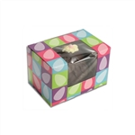 1/4 lb Easter Egg Box - Bright Eggs Pattern