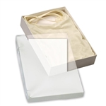 "Clear top Stationery, Photo Boxes 10"" L x 7"" W x 2"" H"