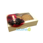Small Grease Resistant Cookie/Bakery Boxes-Holiday Candle