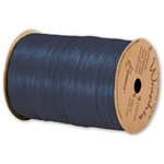 Wraphia Ribbon Matte Navy Blue