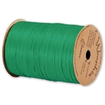 Wraphia Ribbon Matte Kelly Green