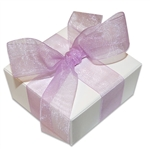Organza Ribbon - Orchid - 100 Yards/Roll - 3 Widths