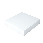 "Giftware Boxes in White 2 Piece 12"" x 12"" x 2-1/2"""