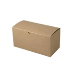 "Gift Boxes - Natural Kraft 9"" x 4-1/2"" x 4-1/2"""