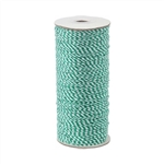 Baker's Twine - Cotton Twine Green & White
