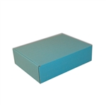 Corrugated E-Comm Blue Presentation Boxes