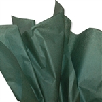 Forest Green Coloured Tissue Paper