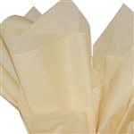 French Vanilla Coloured Tissue Paper