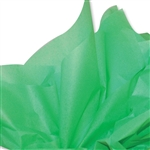 Groovy Green Coloured Tissue Paper