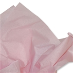 Light Pink Coloured Tissue Paper
