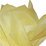 Light Yellow Coloured Tissue Paper