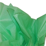 Mid Green Coloured Tissue Paper