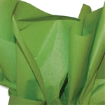 Oasis Green Coloured Tissue Paper