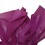 Plum Burgundy Coloured Tissue Paper