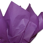 Purple Coloured Tissue Paper