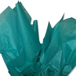 Teal Green Coloured Tissue Paper
