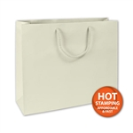Matte Laminated Ivory Large Bags