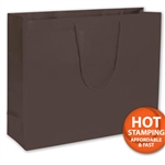 Matte Laminated Brown Extra Large Bags