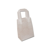 Frosted Petite Reusable White Mums Bags